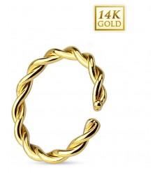 Snoet Ring i 14 Karat Guld