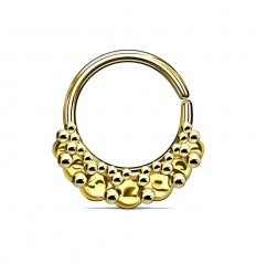 Endeløs Ring med Vintage Cirkler