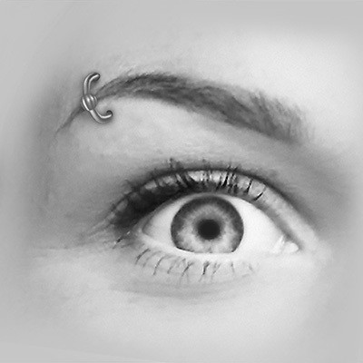 Øyenbrynspiercing